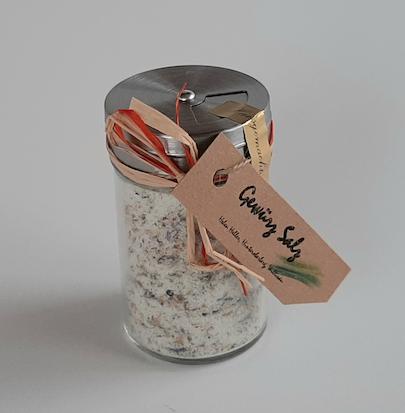 Kräutersalz (Mit oder ohne Chili nach Zufallsprinzip, CHF 7.90)